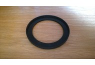 Rubber front spring pad