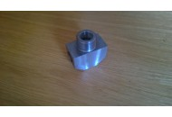 Brake pipes adaptor - drum brake