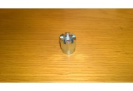 Rear sliding arm castellated nut