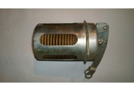 Engine air flap thermostat