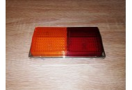PLEXIGLASS FOR REAR LAMP T613 (LEFT, ORANGE-RED)
